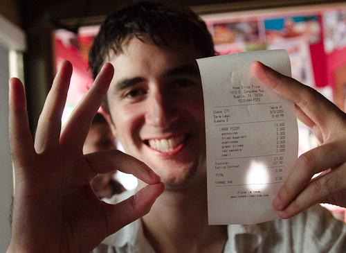 Pizza Cost? - zero Dollars