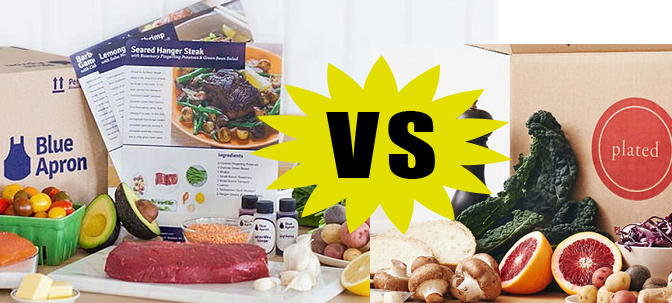 Blue Apron vs Plated: Home Meal Delivery Review & Comparison